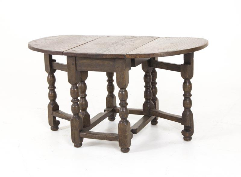 petite antique gateleg table scottish oak drop leaf table b309 heatherbrae antiques