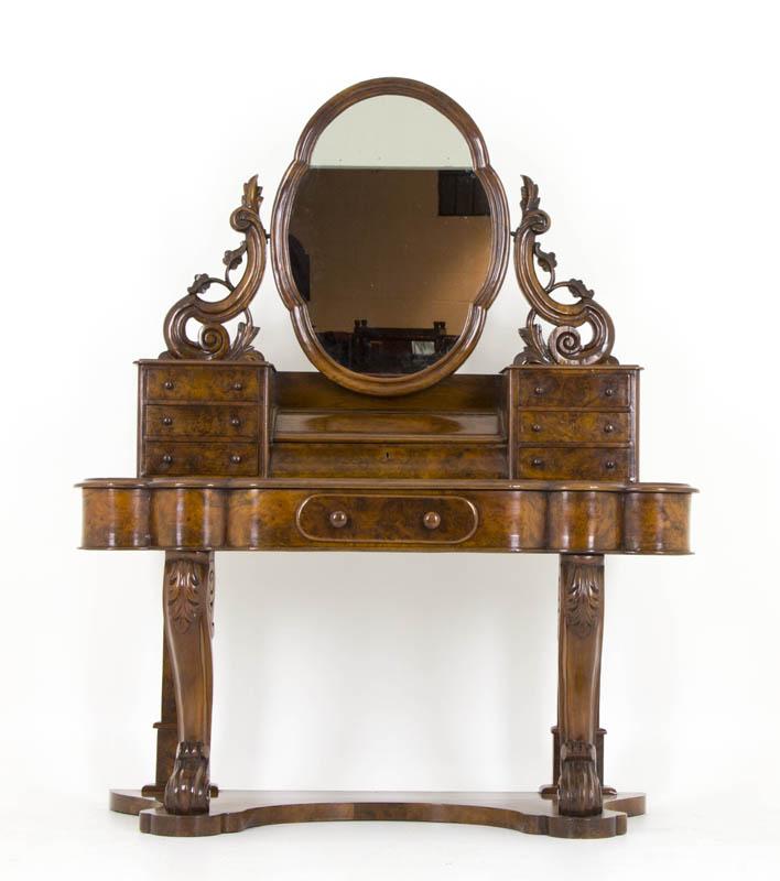 B628 Antique Scottish Victorian Burr Walnut Duchess  : 62801 1 from www.heatherbraeantiques.com size 708 x 800 jpeg 56kB
