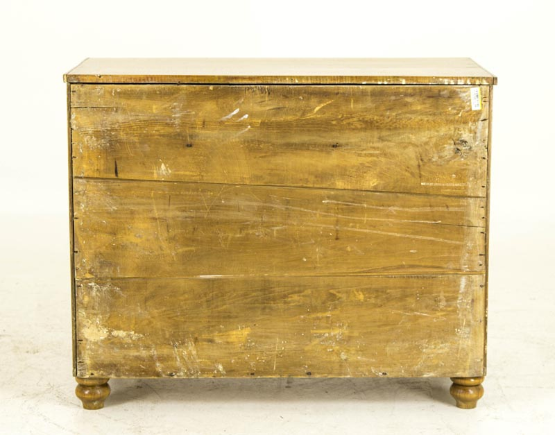 B692 Antique French Canadian Tiger Stripe Maple Washstand