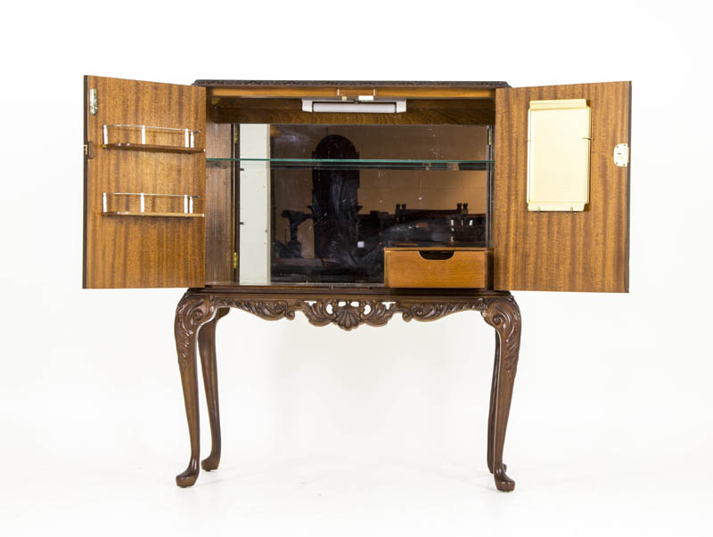Dry Bar   Antique Drinks Cabinet ... - Dry Bar Antique Drinks Cabinet Cocktail Cabinet Scotland 1940