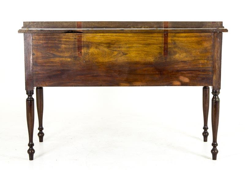 B672 Vintage 5 Drawer Mahogany Writing Desk, Writing Table - B672 Vintage 5 Drawer Mahogany Writing Desk, Writing Table