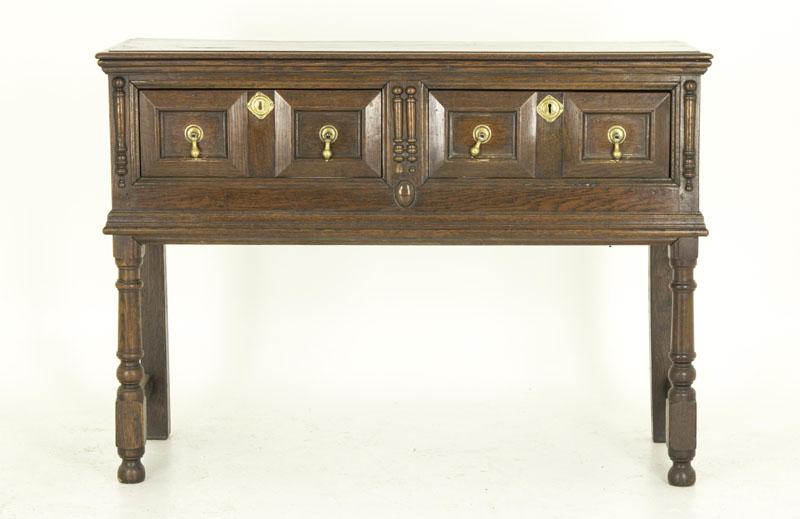 b560 petite scottish antique oak sideboard dresser server heatherbrae antiques. Black Bedroom Furniture Sets. Home Design Ideas