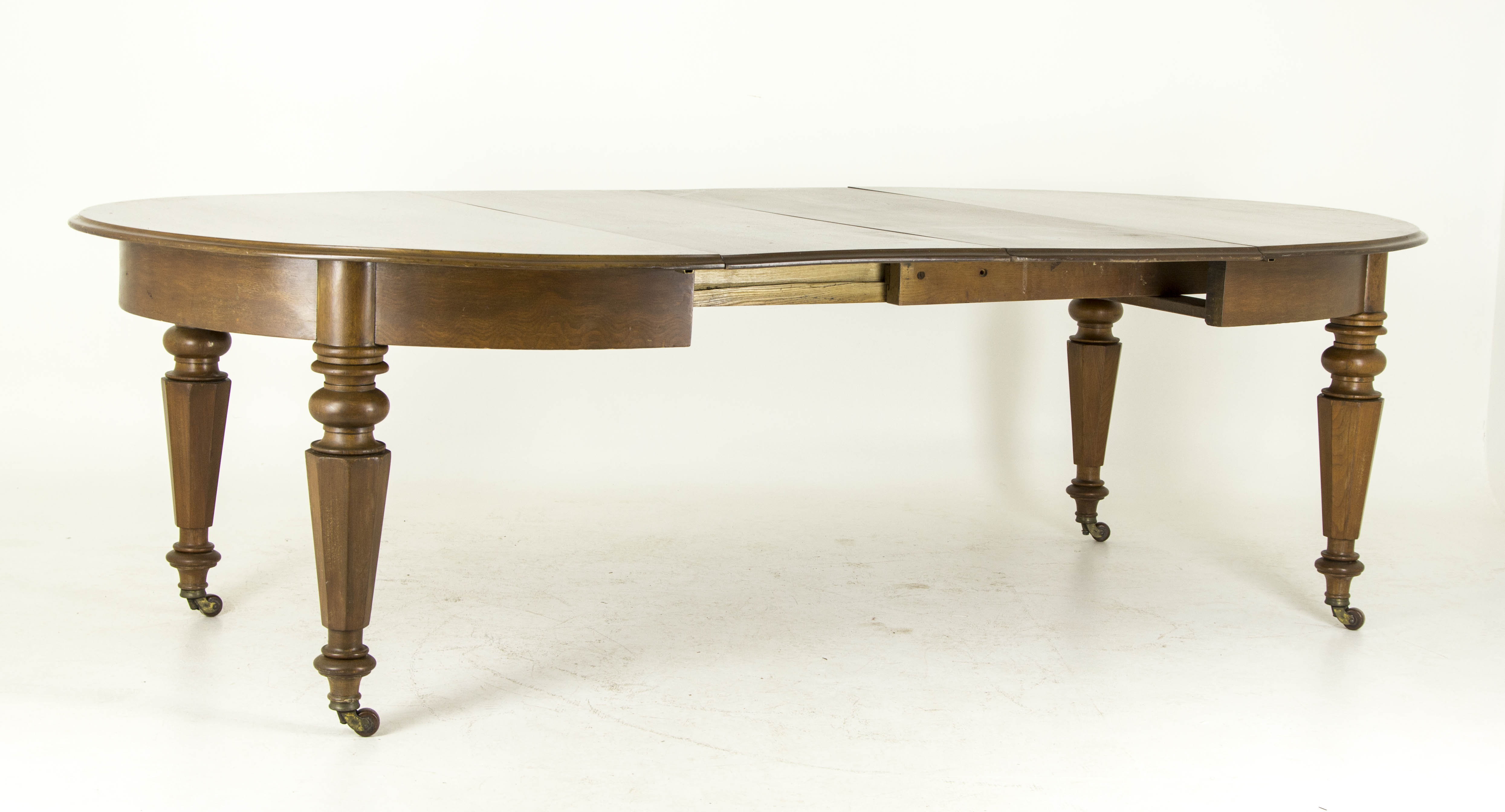 Antique dining table walnut dining table scotland 1870 b632 antique walnut dining table dzzzfo