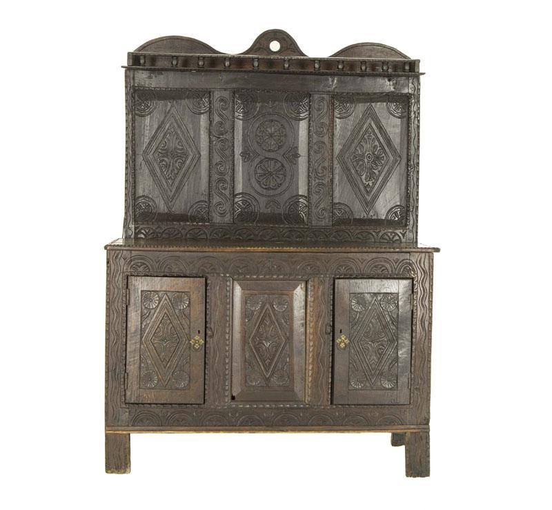 Charming Antique Oak Cabinet