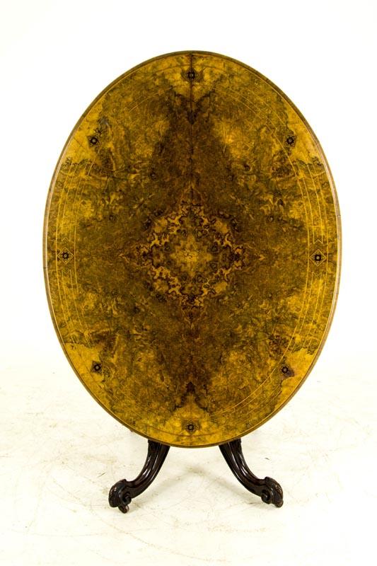 Good Antique Tilt Top Table