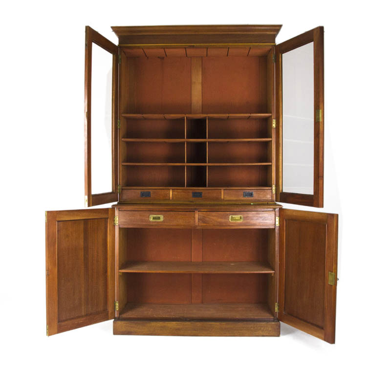 Antique Office Cabinet