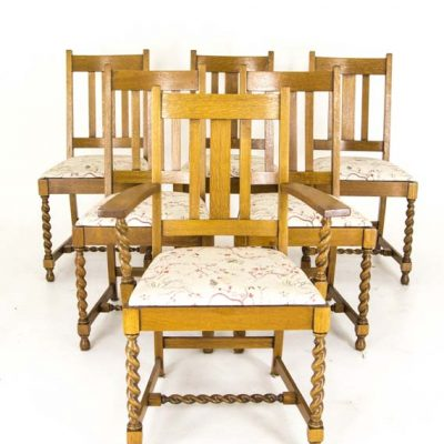 antique 5+1 chairs