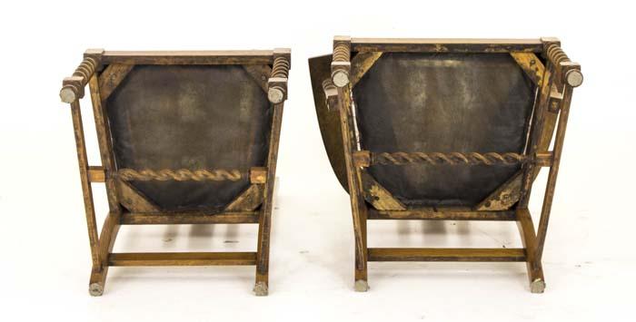 Antique Barley Twist Chairs