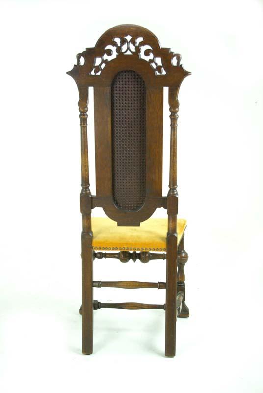 Antique Arm Chair | High Back Arm Chair | William and Mary Chair |  Scotland, 1920 | B800 - Antique Arm Chair William And Mary Chair Scotland, 1920 B800