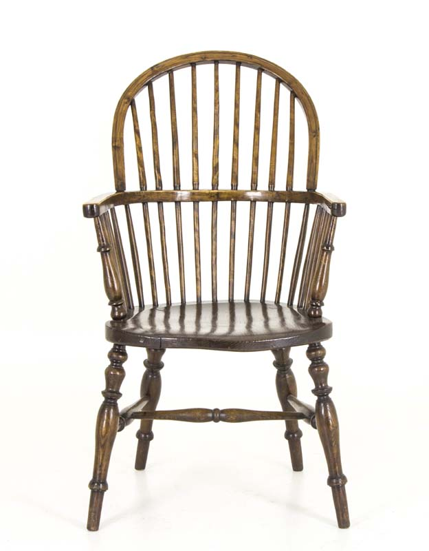 windsor chair - Windsor Chair Antique Chair High Back Chair Scotland, 1920 B817