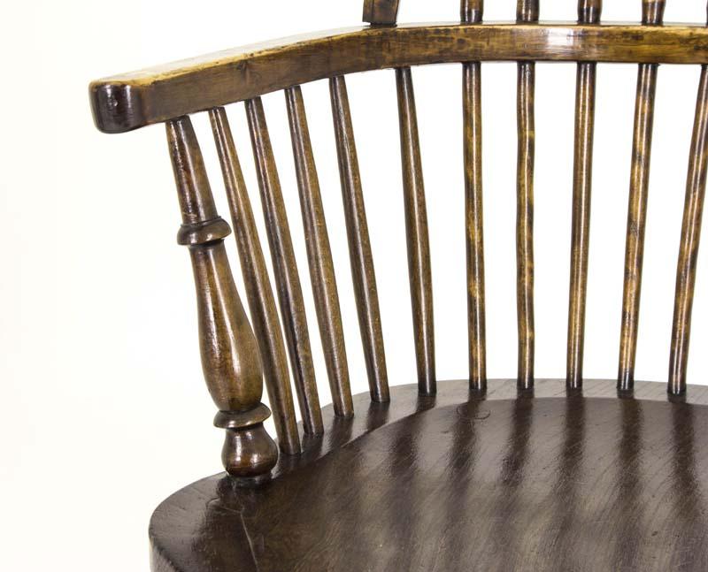 windsor chair - Windsor Chair Antique Chair High Back Chair Scotland, 1920 B817