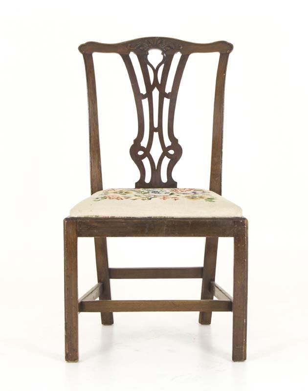 mahogany dining chair - Mahogany Dining Chair Antique Chair England, 1810 B822