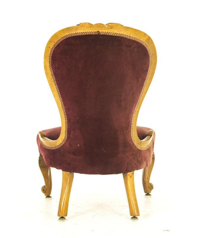 - Antique Arm Chair Victorian Ladies Chair Scotland, 1870 B849A