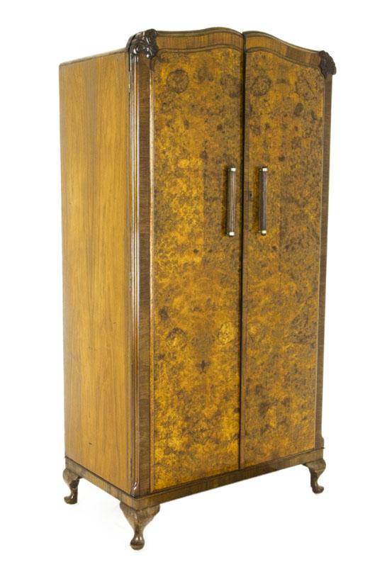 art deco armoire. Black Bedroom Furniture Sets. Home Design Ideas