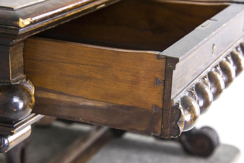 Antique Partners Desk Built In Desk In Kitchen Ideas