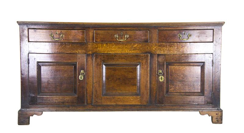 Antique Oak Sideboard Oak Dresser England, 1700s B902