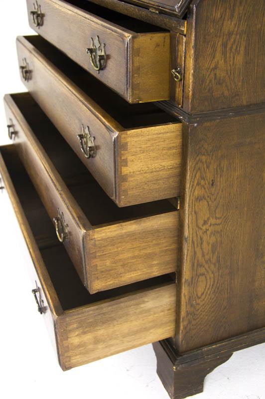 Antique Desk Antique Drop Front Desk Secretary Desk Scotland B706
