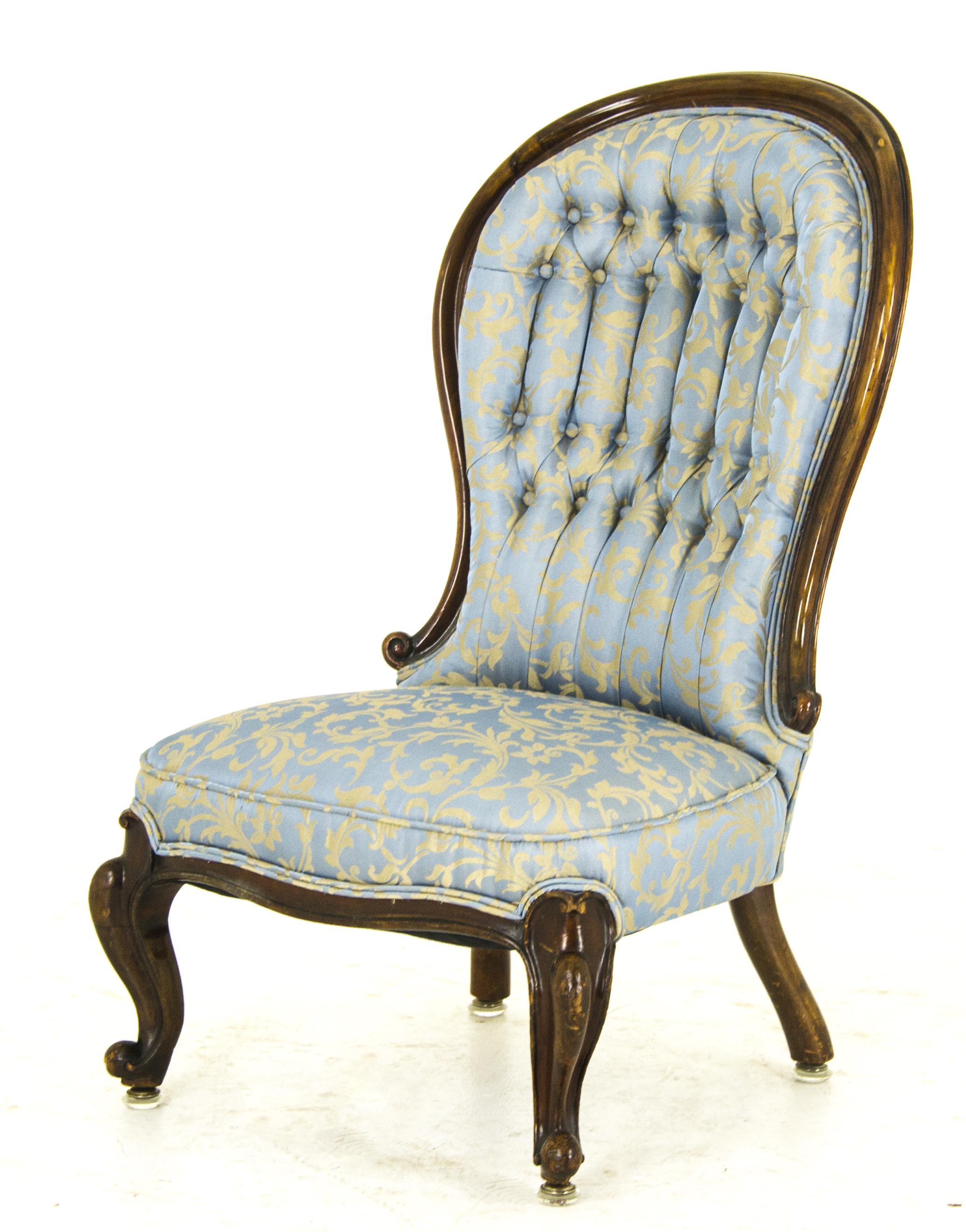 Antique Arm Chair Ladies Chair Victorian Chair Scotland