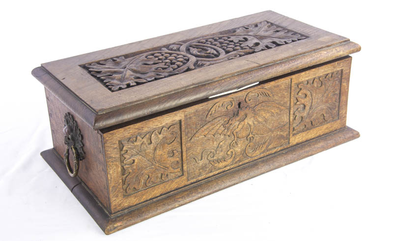 antique deed box