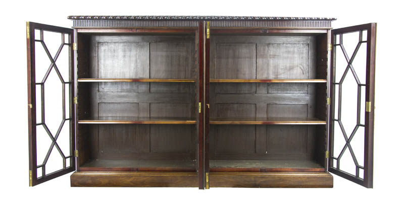 mahogany bookcase - Mahogany Bookshelves