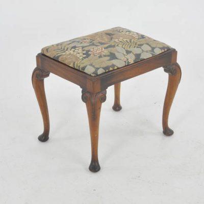 antique dressing bench