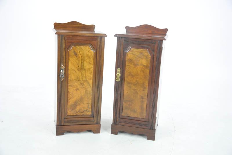 Antique Walnut Nightstands