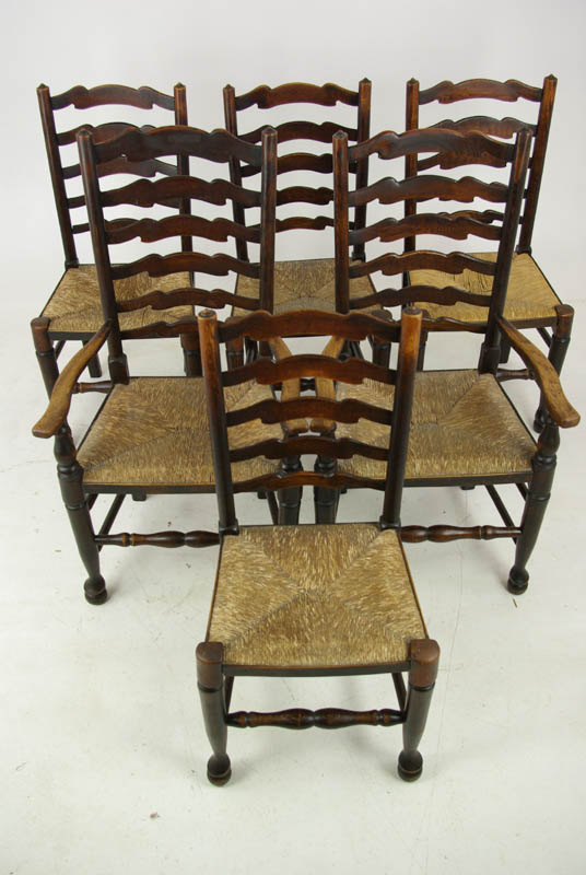 Antique Dining Chairs, Farmhouse Rush Chairs, 4+2 Chairs, Scotland 1930, Antique  Furniture, B1014 - Antique Walnut Chairs Archives - Heatherbrae Antiques