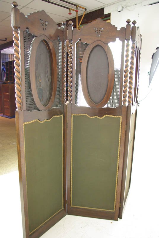 Room Divider Antique Privacy Screen Partition Antique Furniture B999