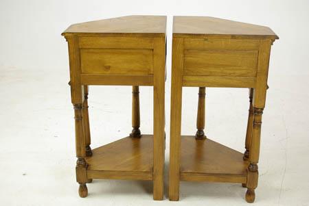 Night Stands, Antique Corner Tables, Oak Lamp Tables, Antique Furniture,  Scotland 1950, B969 - Night Stands, Antique Corner Tables, Antiques, Scotland 1950, B969