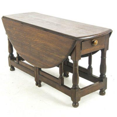 antique gateleg table