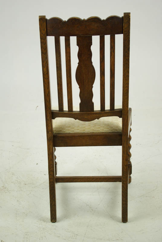 Exceptionnel Antique Dining Chairs