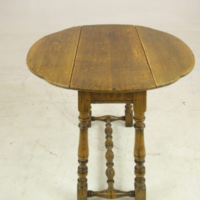 ANTIQUE GATELEG TABLE