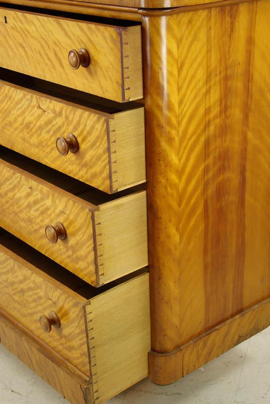 Antique Birch Dresser Birch Chest Of Drawers Scotland