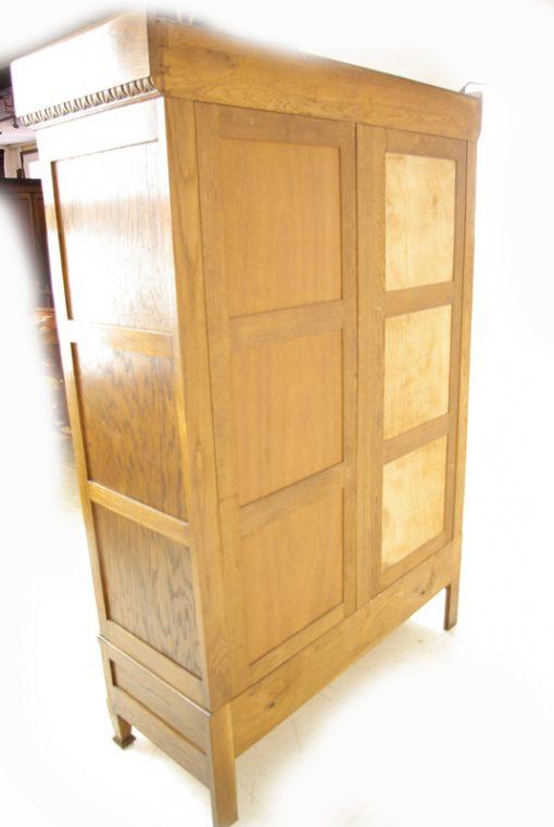 antique art deco bookcase