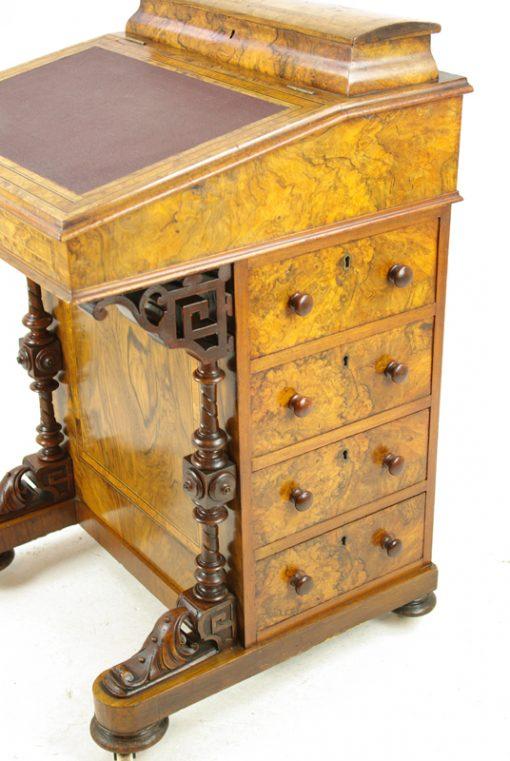 Antique Davenport Desk - Antique Davenport Desk, Antique Desk, Writing Table,Scotland1880,B1253