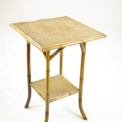 Antique Bamboo Table, Victorian Side Table, Two Tier Lamp Table, Scotland  1900, Antique Furniture, B1309 - Antique Office Furniture For Sale Heatherbrae Antiques