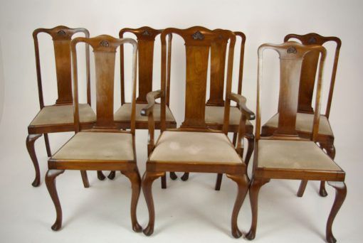 queen anne chairs - Antique Mahogany Chairs, Queen Anne Chairs, Mahogany Dining Chairs