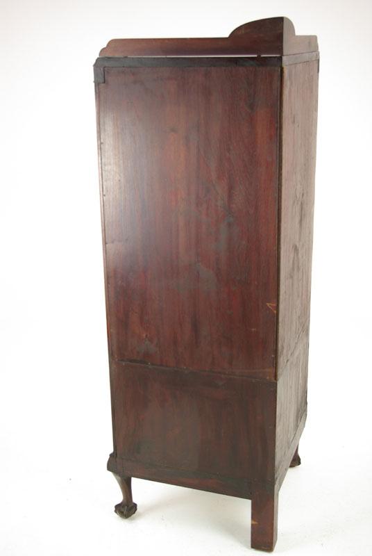 antique corner cabinet - Antique Corner Cabinet, Entryway Organizer, 1780, Antique Furniture,B974