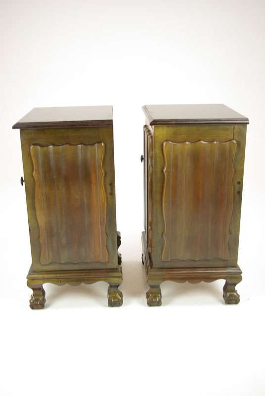 Antique Nightstands Mahogany Bed Side Tables Bed Sides