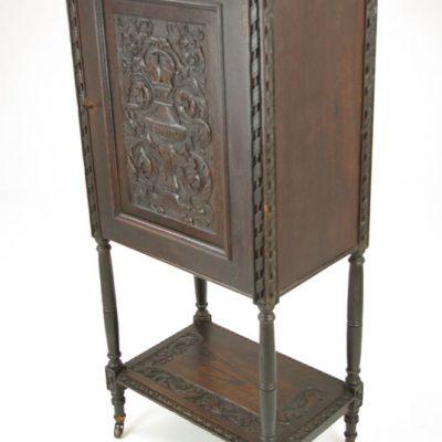 antique carved Cabinet