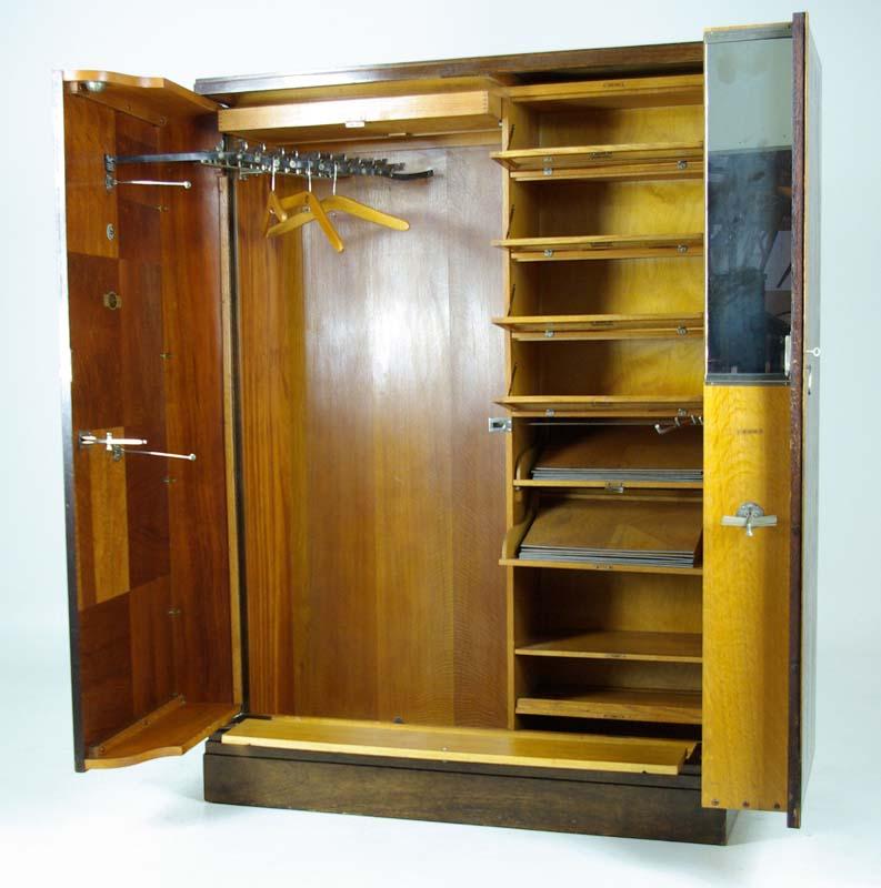 Built In Armoire Bedroom Art Deco Bedroom Suite Young Male Bedroom Decorating Ideas Bedroom Decor Sets: Art Deco Mahogany