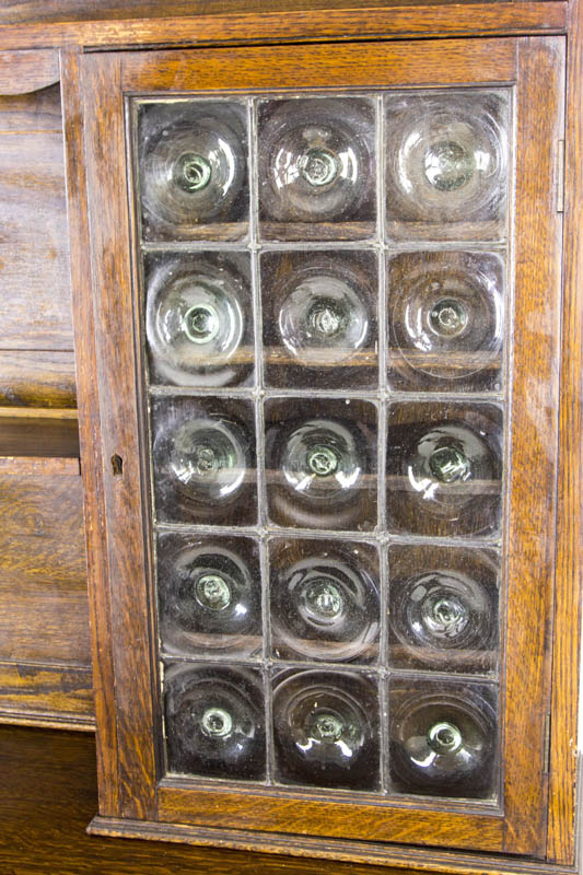 B580 Antique Scottish Oak Welsh Dresser Sideboard Buffet