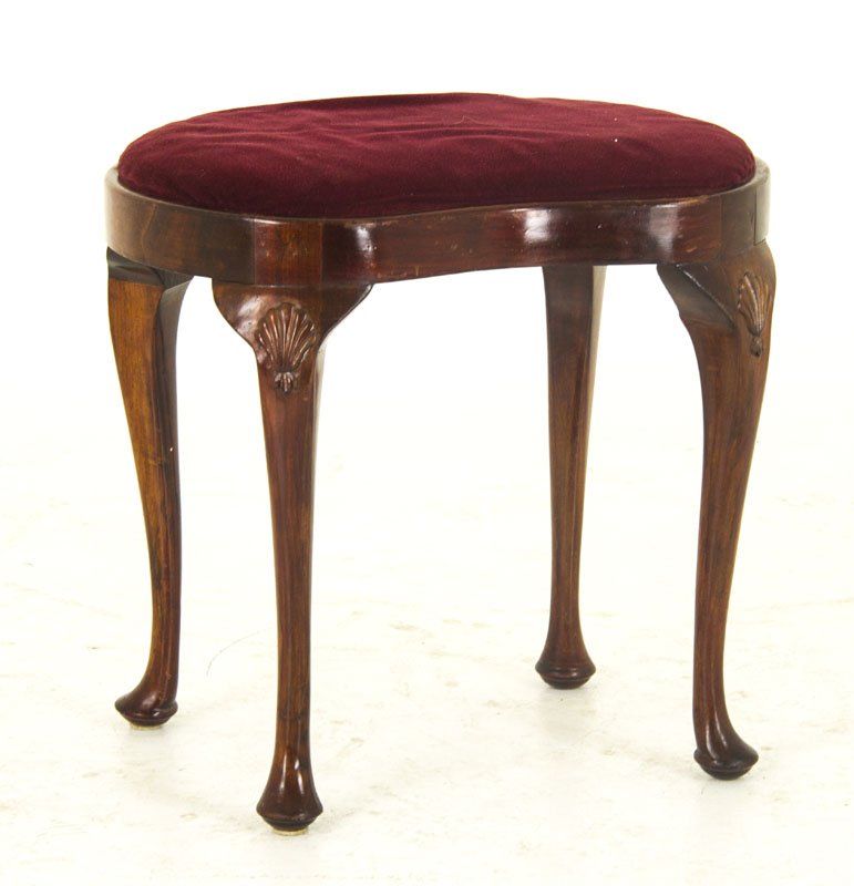 Antiques Antique Mahogany Stool Benches/stools
