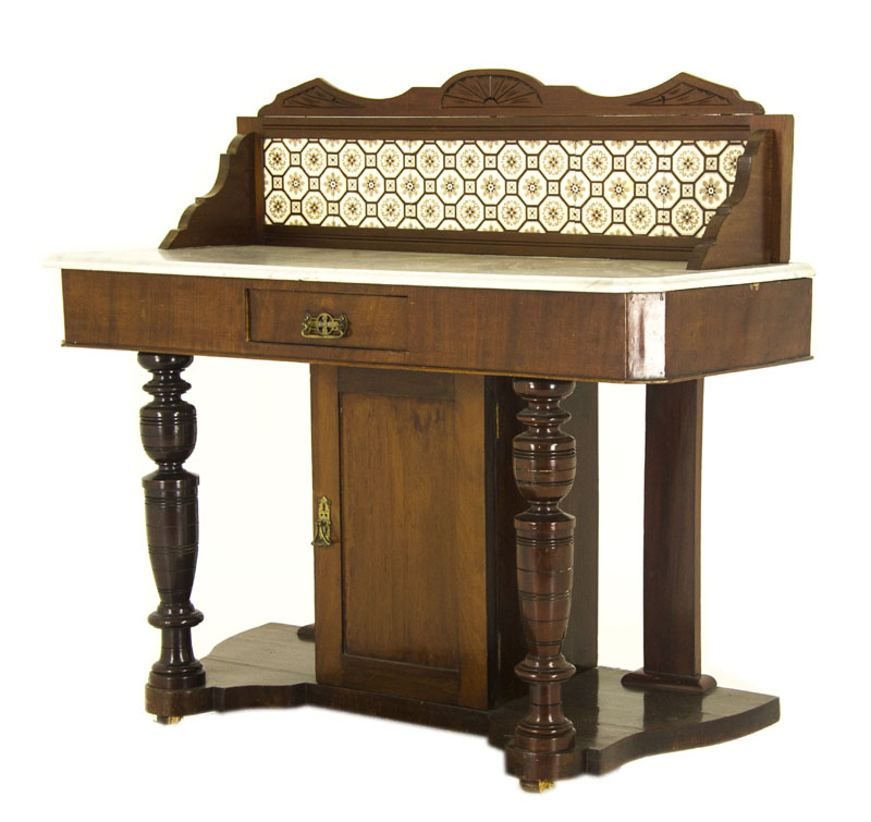 Antique Sideboard Victorian Walnut Buffet Scotland 1870