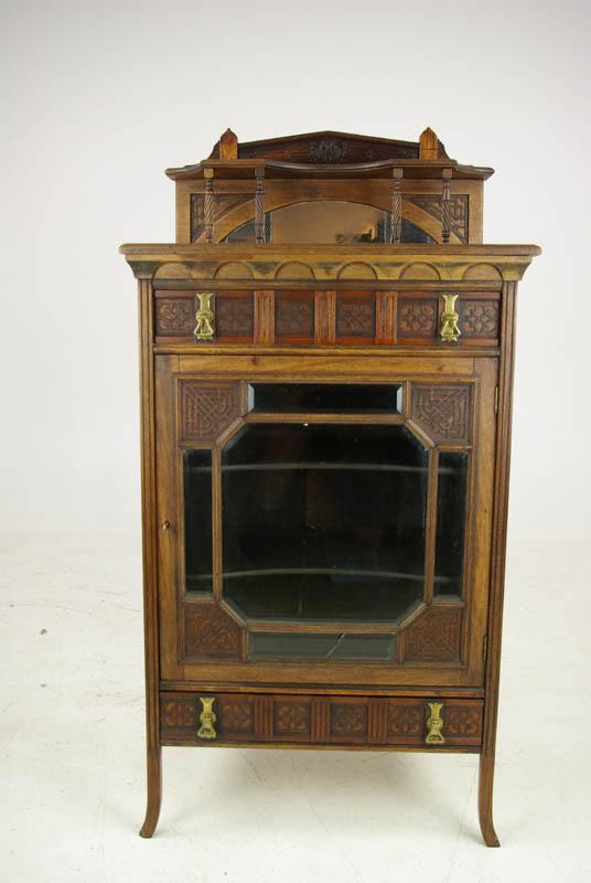 Antique Music Stand Music Box Walnut Music Stand Scotland