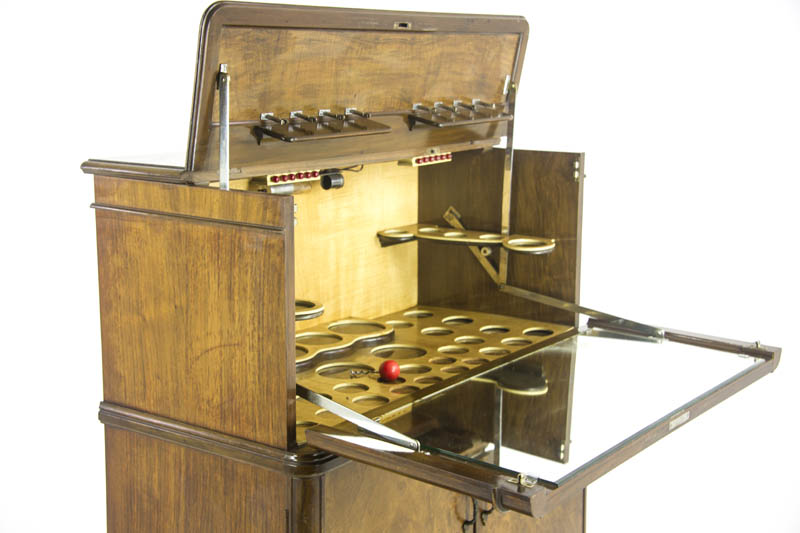 Antique Dry Bar Tail Cabinet