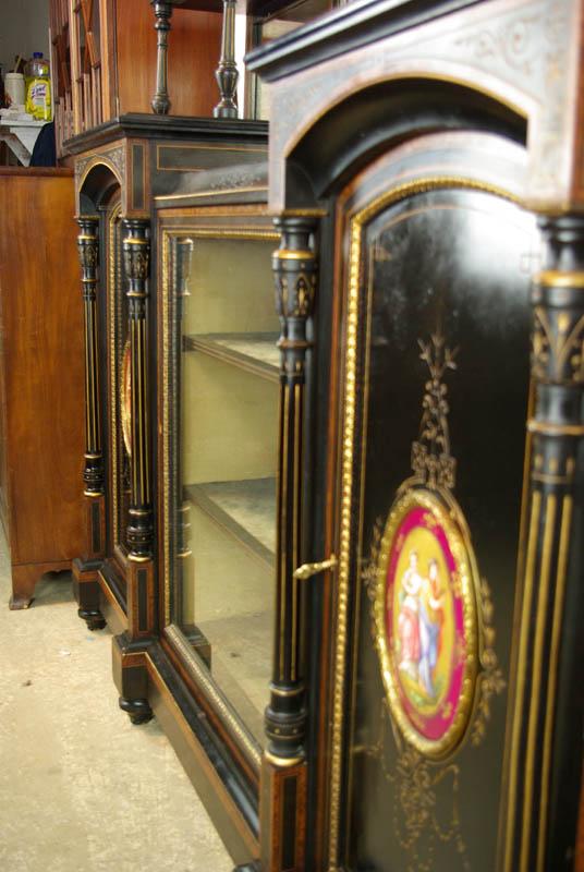 Antique Ebonized Sideboard Victorian Aesthetic Movement