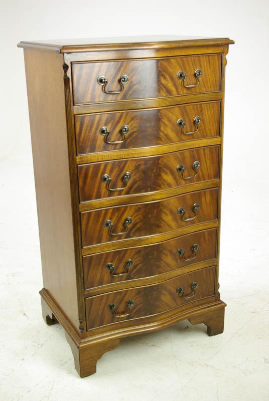 Antique Mahogany Dresser Vintage Lingerie Chest Scotland 1940 B1093
