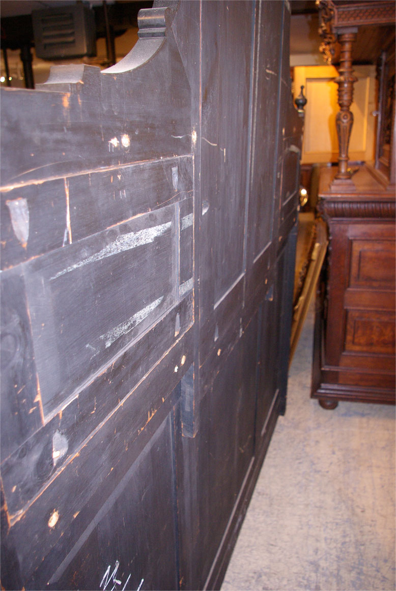 Antique Ebonized Sideboard Victorian Aesthetic Movement