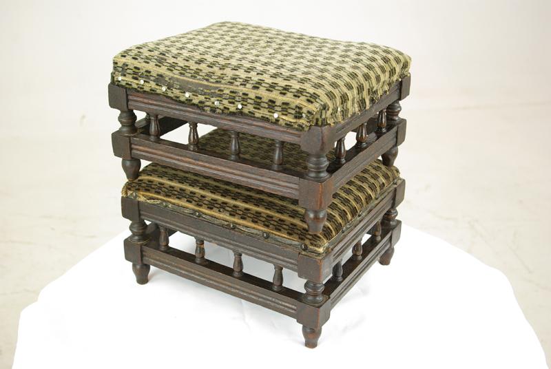 Enjoyable Pair Antique Footstools Victorian Walnut Footstools Scotland 1880 Antique Furniture B1056 Dailytribune Chair Design For Home Dailytribuneorg